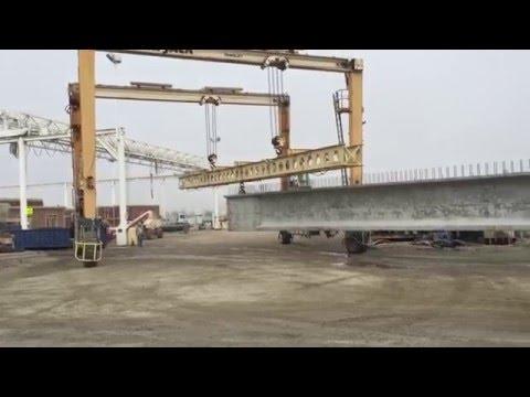Triple Pick Gantry crane