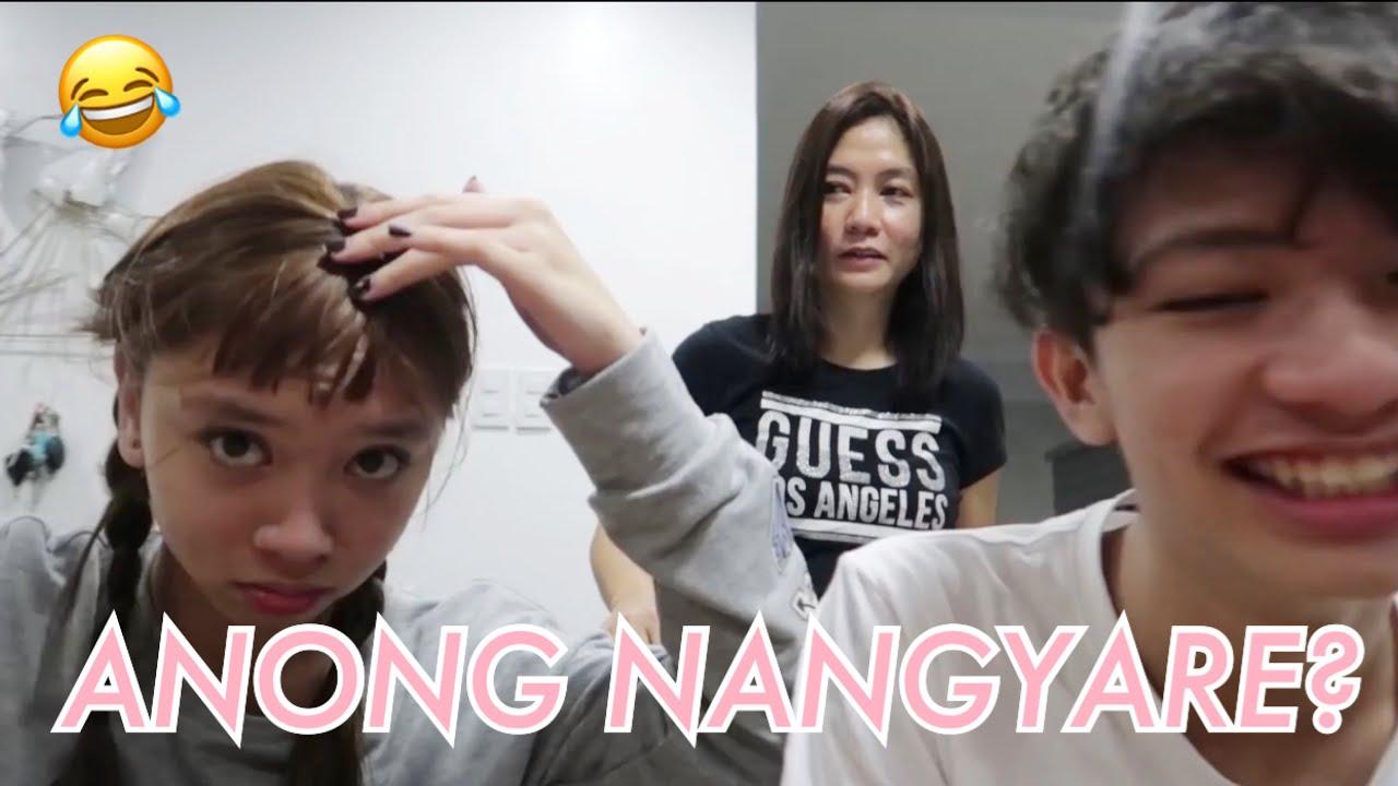 I CUT MY HAIR PRANK (GRABE NAGALIT SILA)