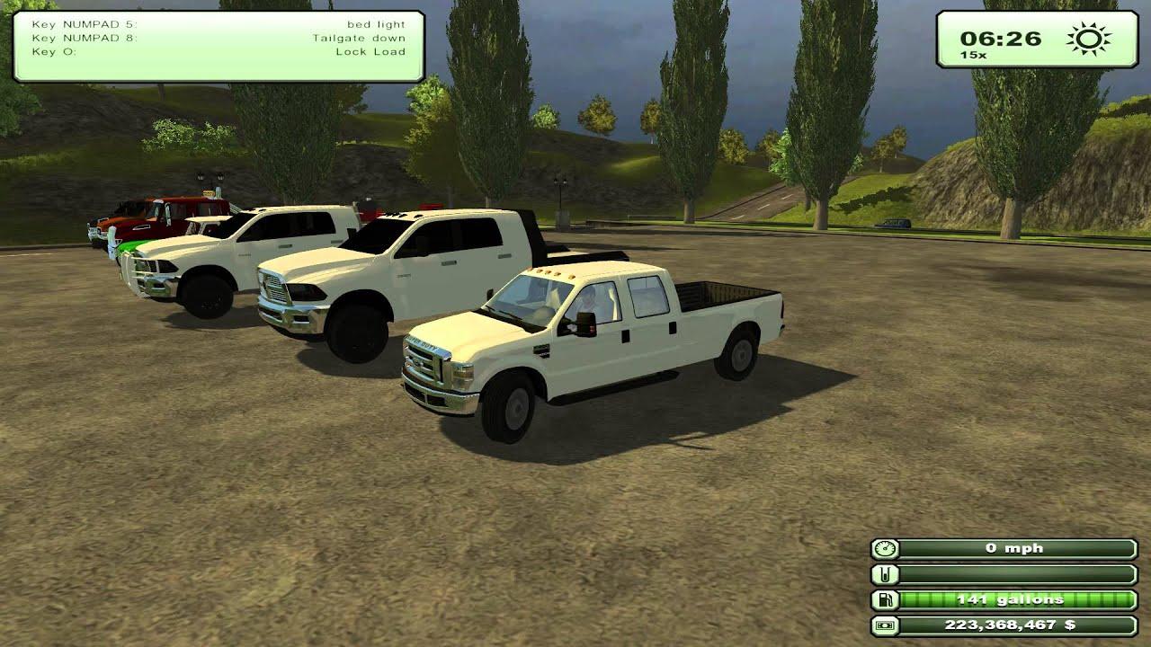 Farming Simulator 2013 American Trucks Dodge 3500 and more