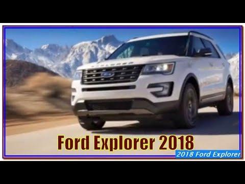 Ford Explorer 2018   2018 Ford Explorer Sport Interior Exterior And Review