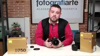 Objetivo Nikon 24-70mm f2.8 E ED VR