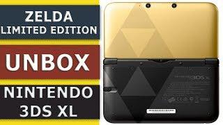 Розпакування та огляд Nintendo 3DS XL zelda limited edition
