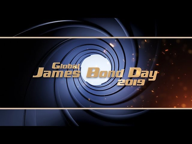 Global JAMES BOND DAY Livestream Replay