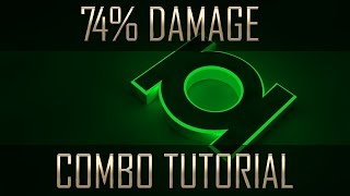 Injustice 2 Green lantern combos tutorial