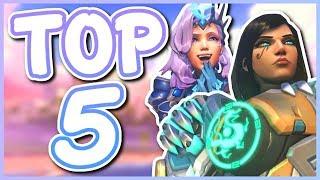 Overwatch - TOP 5 BEST DUO HEROES
