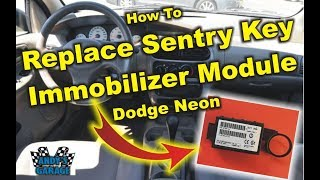 how To Replace Sentry Key Immobilizer Module (SKIM) - Dodge Neon (Andy's Garage: Episode - 5)