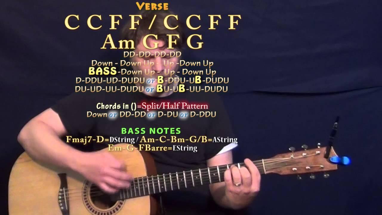 I Like The Sound Of That Rascal Flatts Guitar Lesson Chord Chart