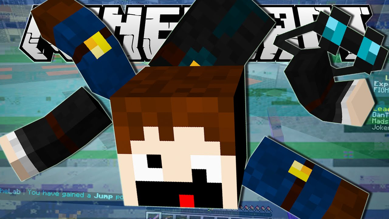 Minecraft | A GIANT GLITCH!! | The Lab Minigame