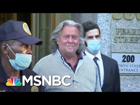 Bannon Legal Woes Leave Trump Scrambling For Distance (Again) | Rachel Maddow | MSNBC