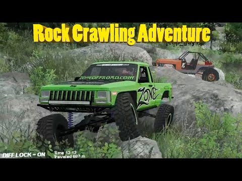 Spin Tires | Ultimate Multiplayer Rock Crawling Adventure | Part 1 | Terra Verde