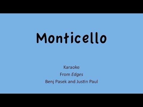 """""""Monticello"""" Karaoke - TIG Music (""""Edges"""" Cover)"""
