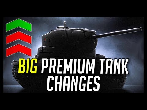► BIG Preferential Premium Tank Changes + More Object 268 V4 Nerfs! - World of Tanks NEWS
