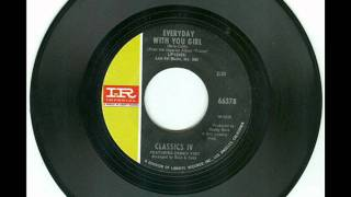 Watch Classics Iv Everyday With You Girl video
