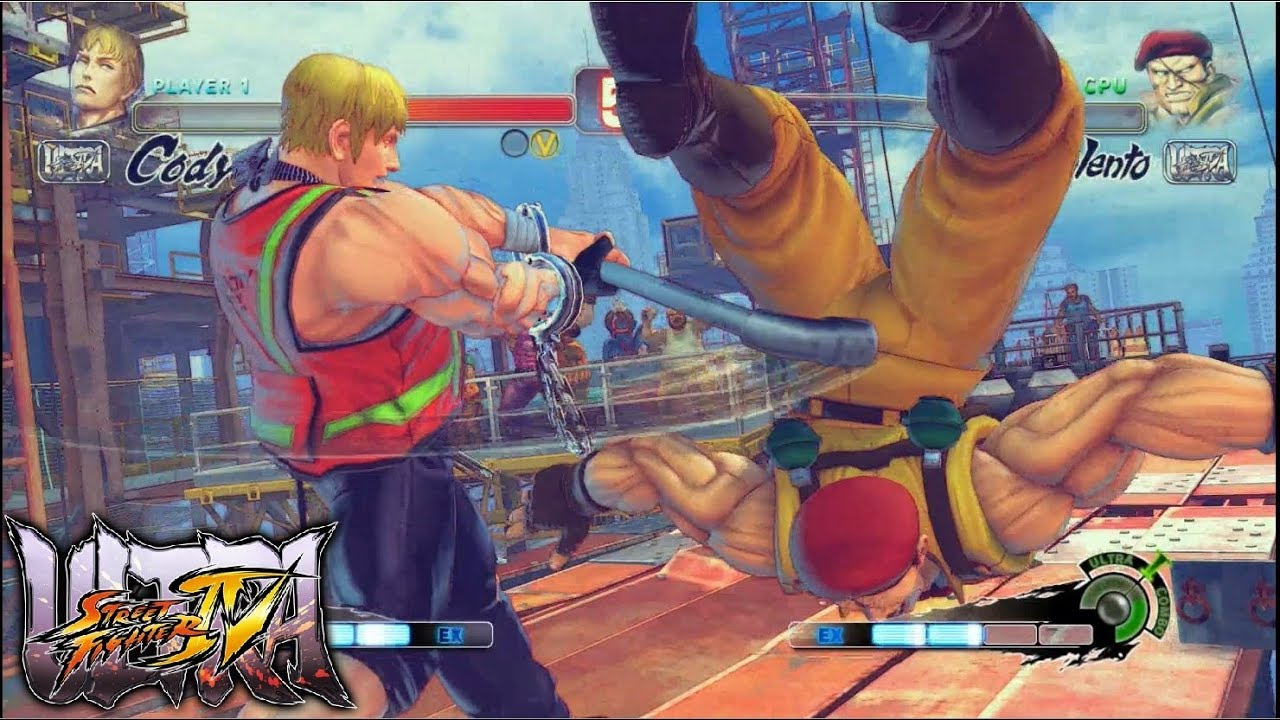 Ultra Street Fighter Iv Cody Vs Rolento Ps4 Gameplay Youtube