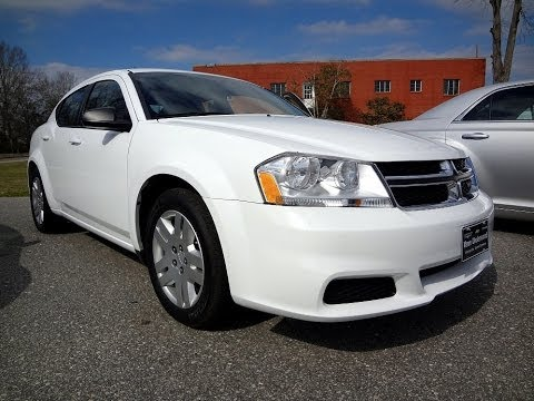2012 Dodge Avenger Se Youtube