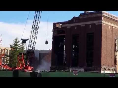 ENAD Wrecking Ball Demolition - Purdue University 10/28/14