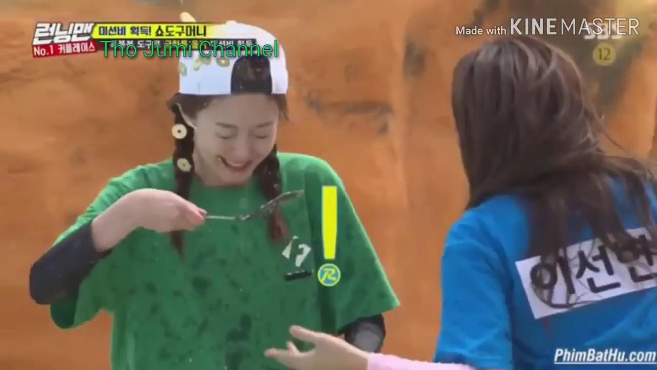 💚Kwang Soo và Sun Bin💚Cặp đôi gian lận và So Min chịu trận   Running Man Vietsub full hd