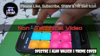 Spectre Alan Walker Karaoke Version || Beat Cover