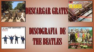 descargar todas las discografia de the beatles full