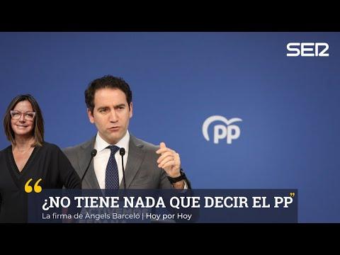 """Àngels Barceló: """"¿No tiene nada que decir el PP sobre lo ocurrido en Murcia?"""""""