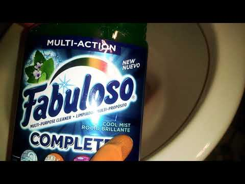REVIEW/FIRST IMPRESSION: FABULOSO COMPLETE - COOL MIST   Crazy Cleaner