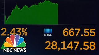 Why Is Stock Market Surging Amid Election Uncertainty? | NBC News