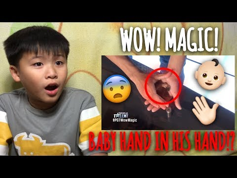 Kid Reacts to Pilipinas Got Talent 2018 Auditions: Jeptha Callitong *magic*