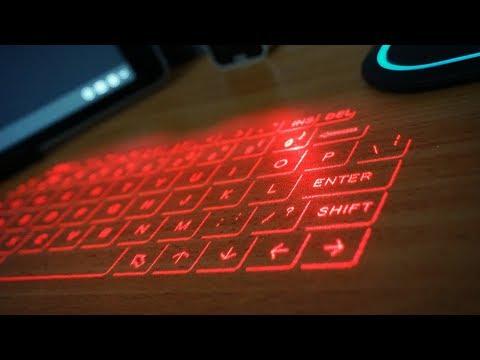 Лазерная Клавиатура с AliExpress - Тест Новой Модели