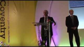 Jim Cunningham's election speech.