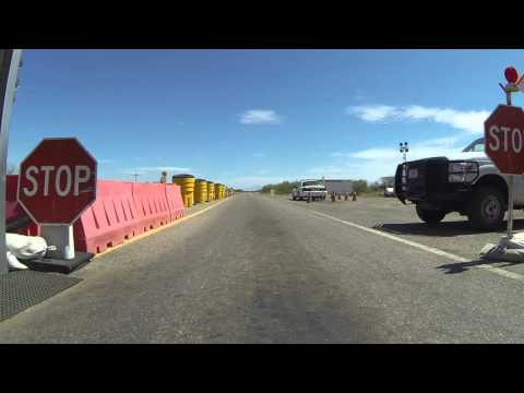 DHS Checkpoint inspects Indians leaving Reservation - U.S. Border Patrol Interrogation, GP071941