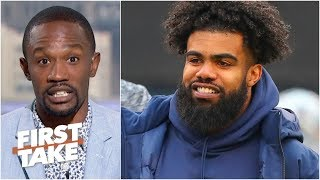 Who has leverage in Ezekiel Elliott's holdout from the Cowboys? | First Take