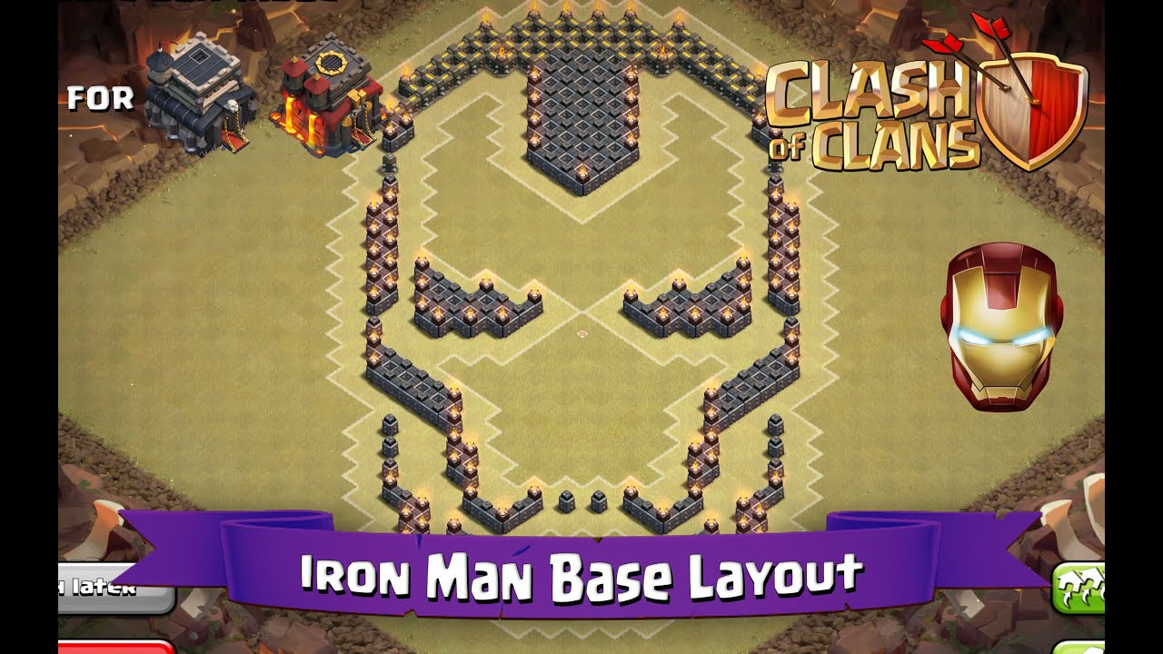 Clash Of Clans TH TH Fun Base Layout