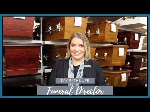 FUNERAL DIRECTOR ⚰️ Day In The Life