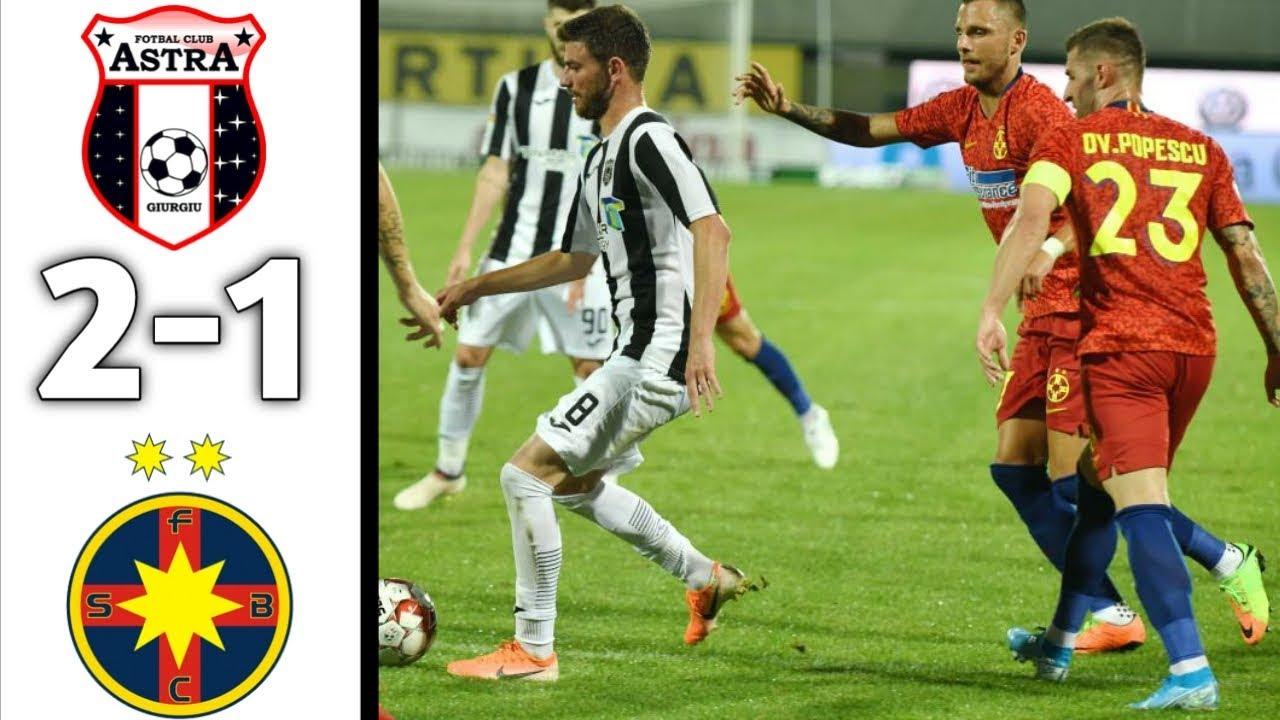 FCSB-Astra 3-0. Alibec, două goluri și o pasă de geniu VIDEO  |Astra- Fcsb