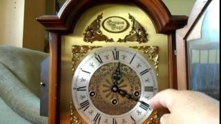 Tempus Fugit westminster mantel clock Western Germany