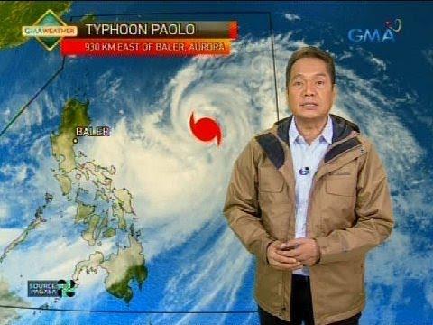 Typhoon Paolo na lumakas pa at LPA, magdadala ng masungit na panahon sa malaking bahagi ng bansa