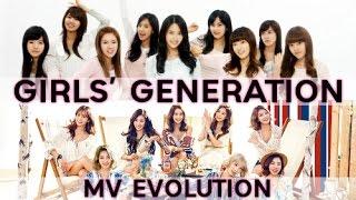Evolution of: Girls' Generation - Music Videos (2007-2017) - Stafaband