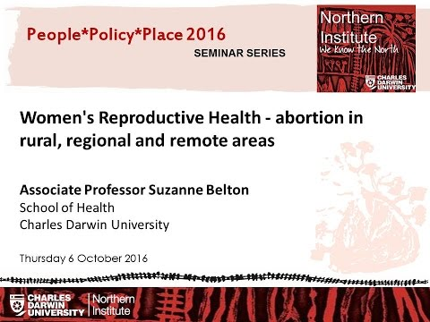 Women's Reproductive Health - abortion in rural, regional and remote areas