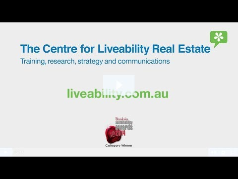 Josh Phegan interview with Cecille Weldon - Centre for Liveability Real Estate