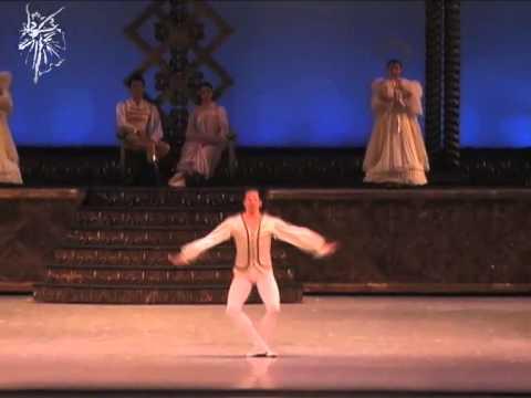 Harold Quintero Primer Bailarín de la CND de 2008 al 2013. El Cascanueces
