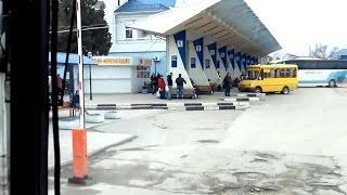Евпатория ул. Чепаева - Автовокзал 1 апреля 2015.