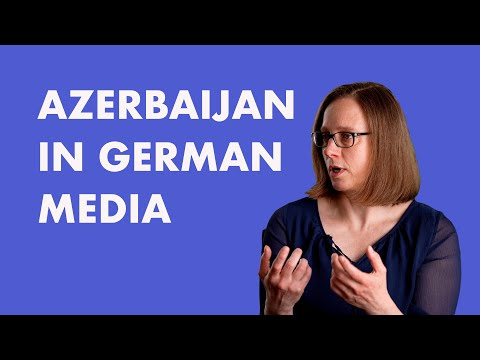Azerbaijan in German