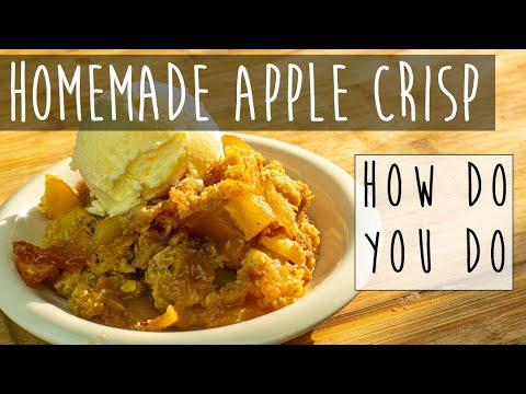AMAZING Old Fashioned Apple Crisp Recipe