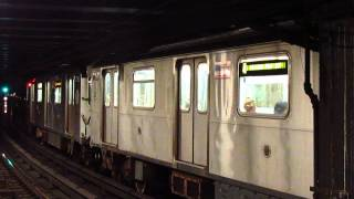 IRT Eastern Pkwy line: Crown Heights bound R142A (4) Train at Borough Hall