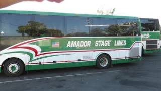 Motor Bus Society 2016 Fall Convention Sacramento, CA  AMADOR Stage Lines
