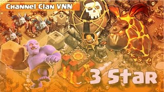 Lavaloon || TH10 || 3 Stars War || Clash of Clans