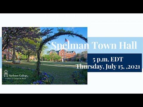 Download Spelman College Summer Town Hall: No. 2 - July 15, 2021