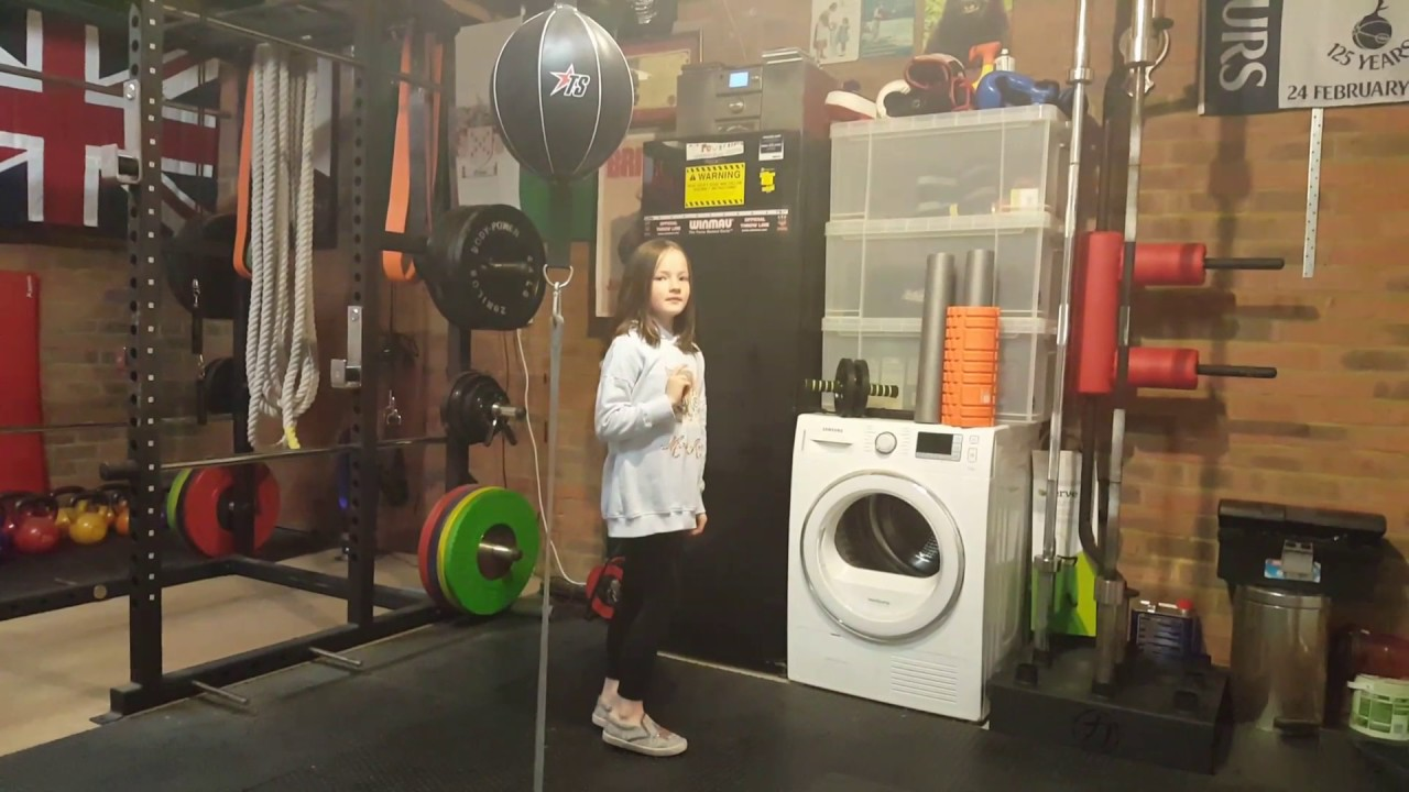 Home garage gym tour by annastatia best in britain youtube