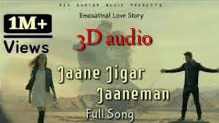 Gambar cover 3D song  ll jaane jigar Jane man ll a emotional song
