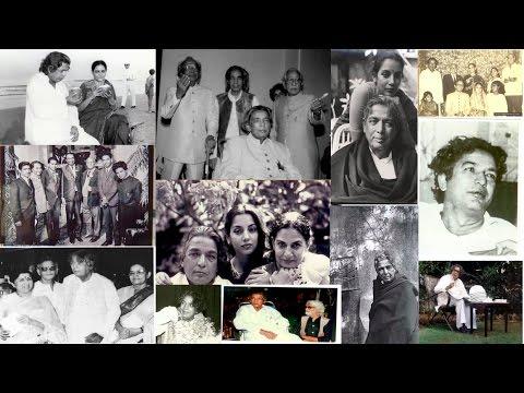Rare & Unseen Photos of Kaifi Azmi